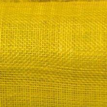 Flo Yellow Sinamay